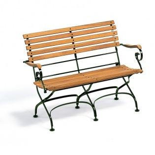 Weishäupl Classic 2-Sitzer Gartenbank