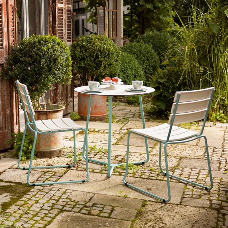 Weishäupl Balcony Stuhl weiß taupe