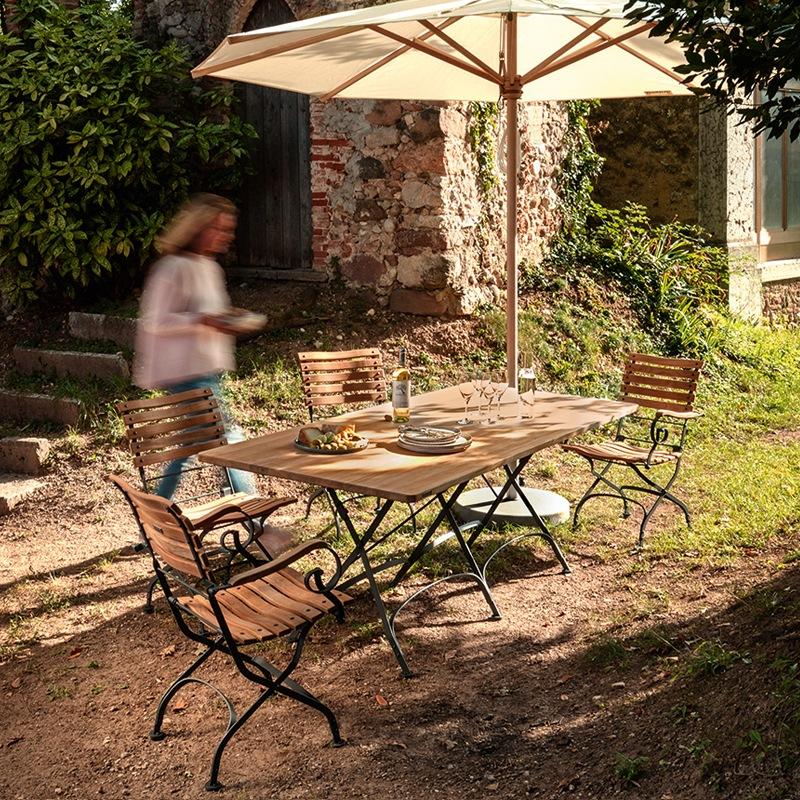 Classic Gartentisch 180 X 80 Cm